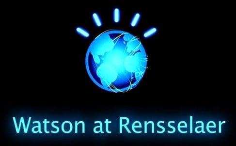The image shows the Watson at Rensselaer logo.