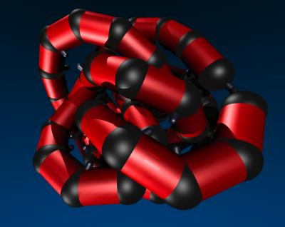 Bionic protein is shown in knots.q