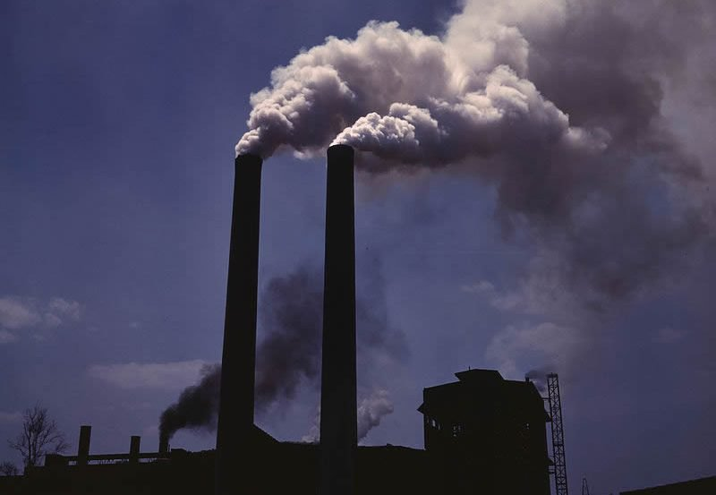 This image shows smoke stacks.