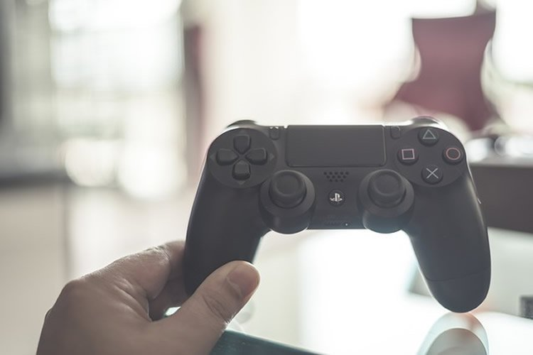 This image shows a video game controller.