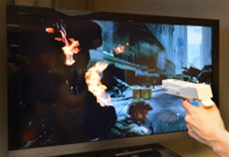 Image of a shooter video game.