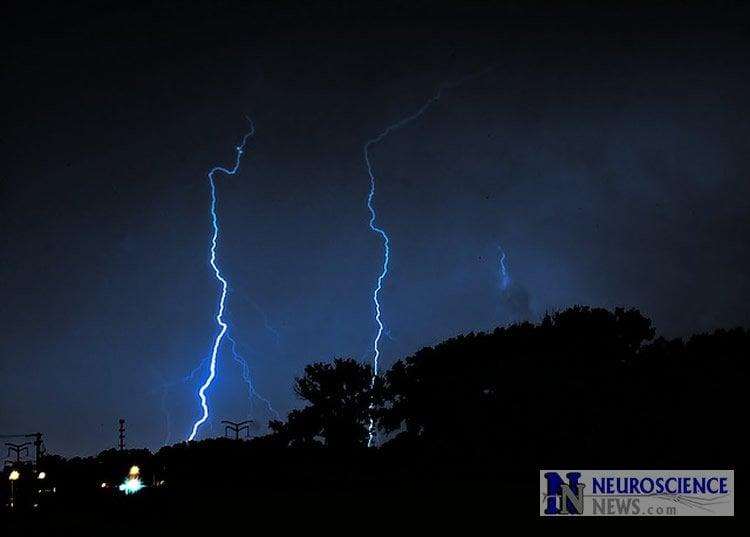 Image of lightening.
