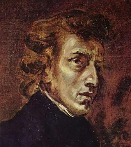 Paining of Chopin.
