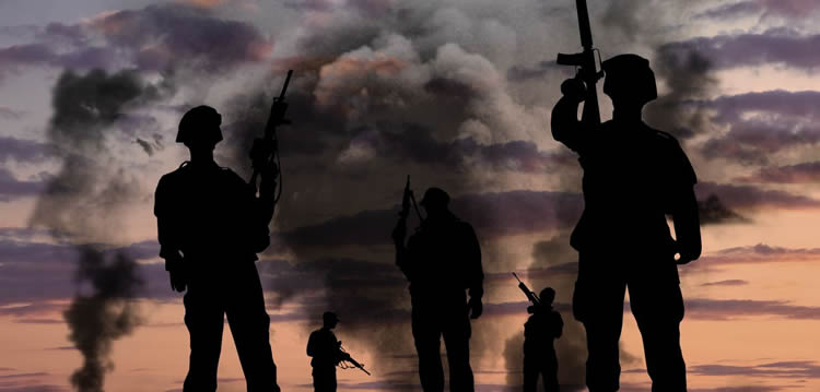 Image of a war scene.