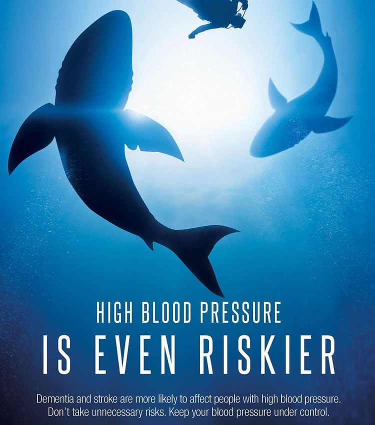 Image shows the campaign shark poster.