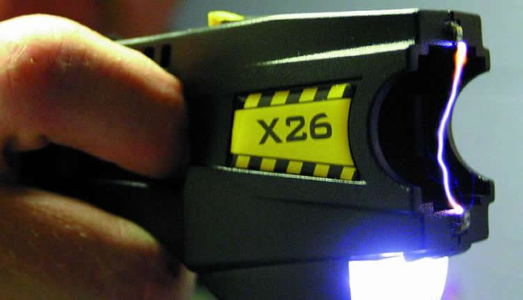 Image shows a Taser gun.