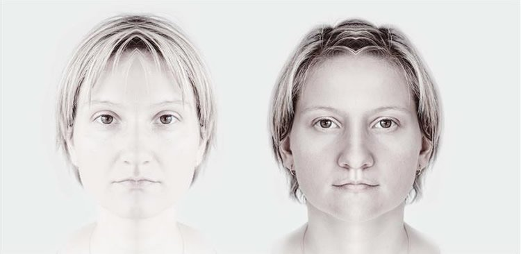 Lateral asymmetry in intensity of emotional expression