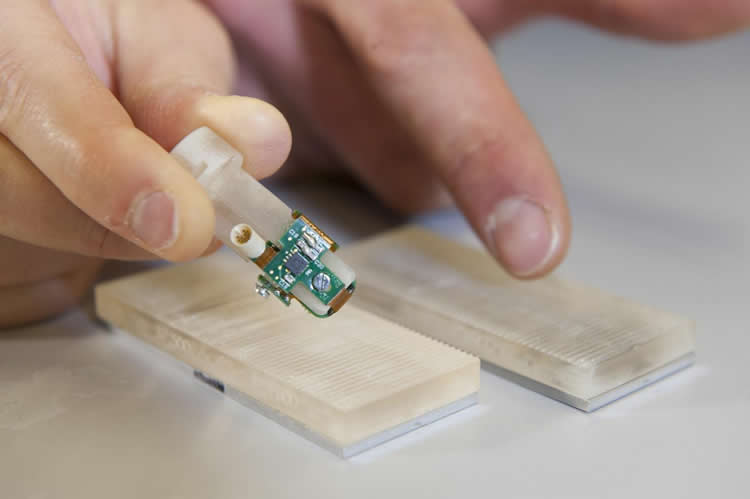 Image shows the bionic fingertip.