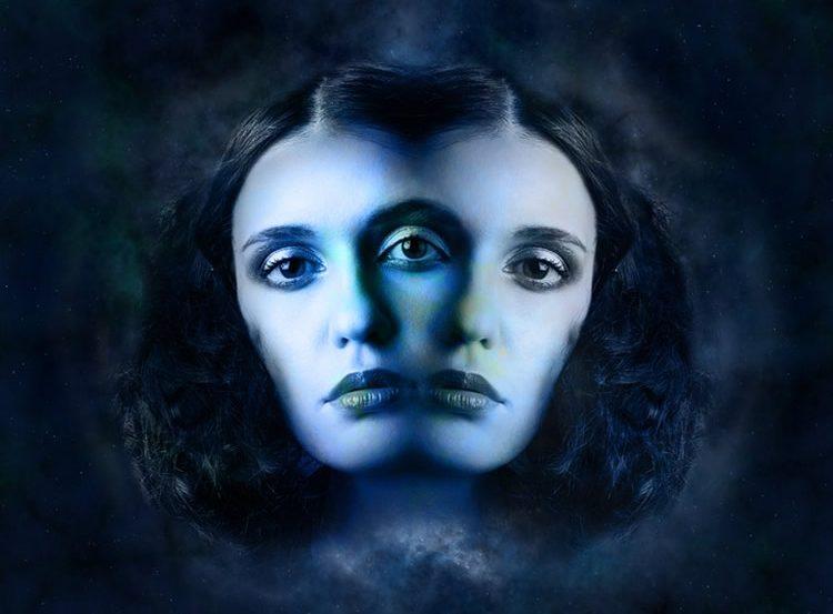 Image shows twin women.