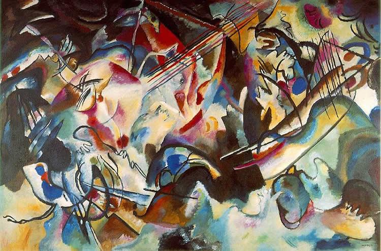Kandinsky's Composition 6.