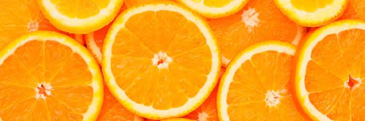 Image shows oranges.