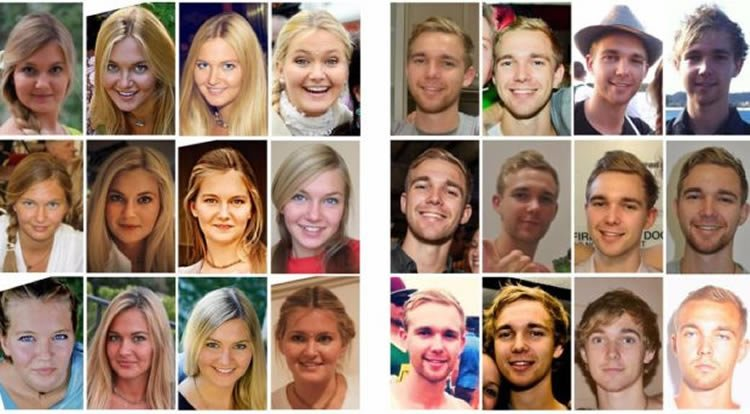 Image shows different peoples' profile pics.