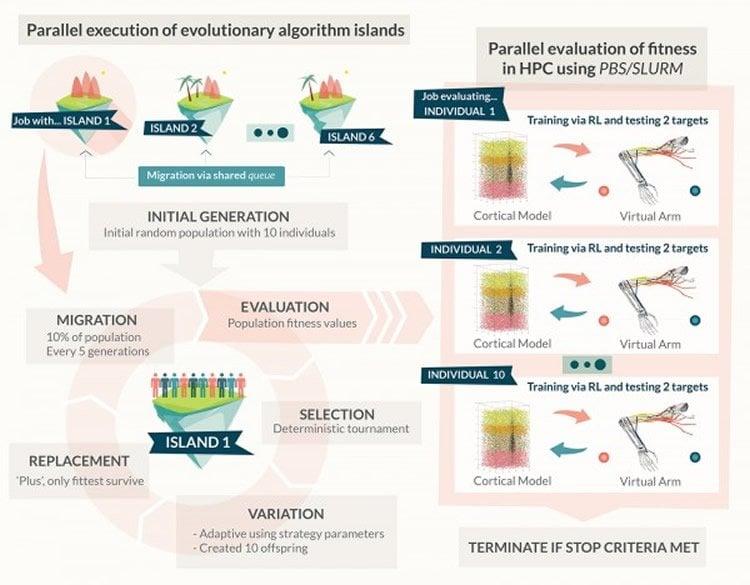 Image shows an algorithmic diagram.