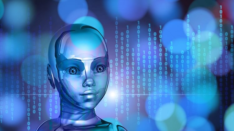 Image shows a robot.
