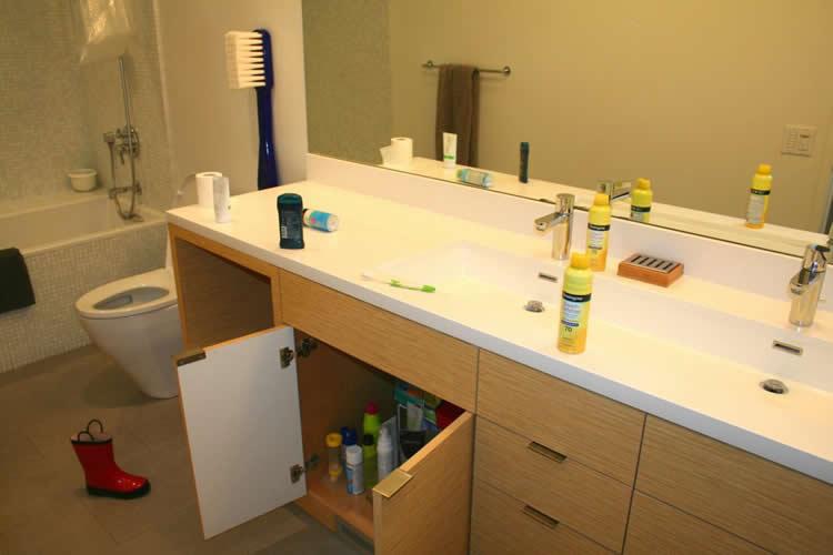 A bathroom is shown.