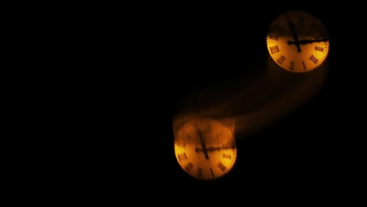 Image shows two clocks.