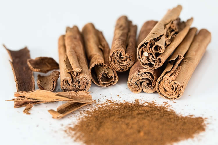 Image shows cinnamon sticks.