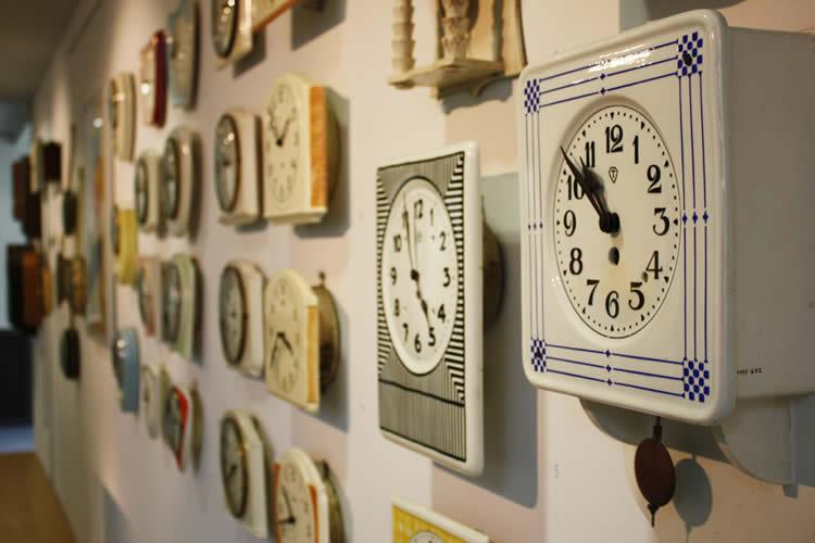 clocks are shown