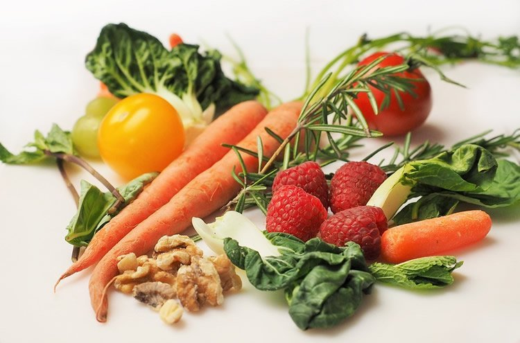 Image shows healthy foods.