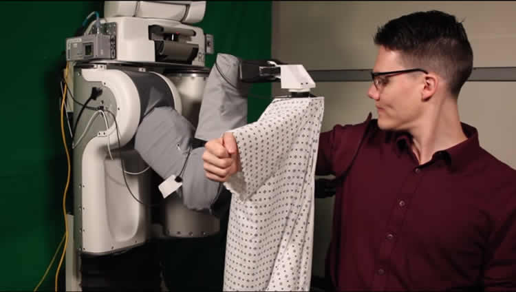 dressing robot