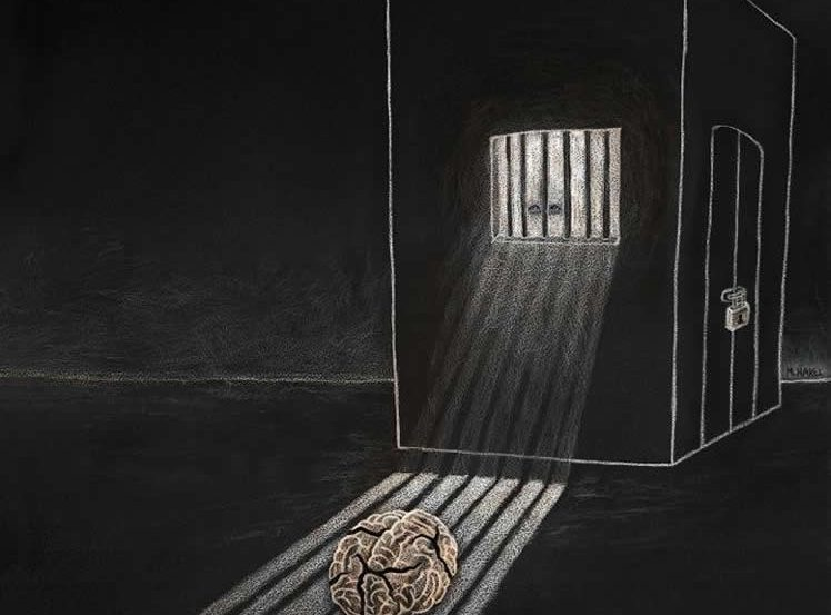 brain in jail
