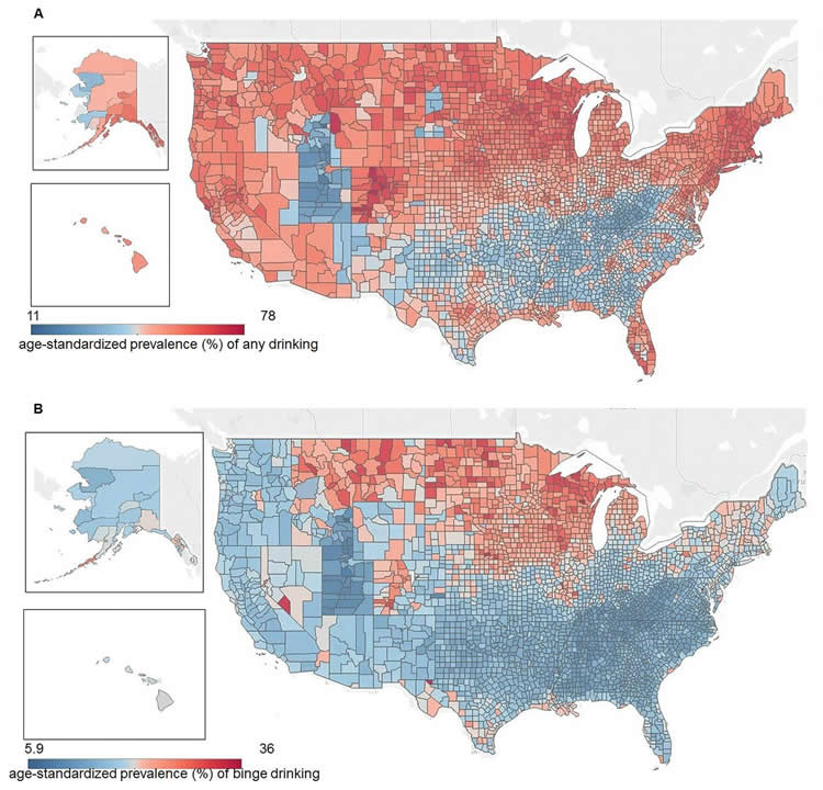 cold hot climate map of the USA