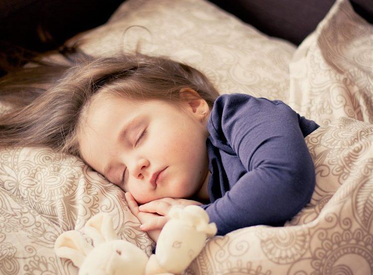 a sleeping child