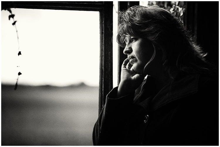 an older woman