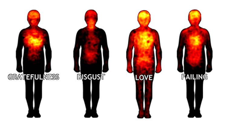 emotion body map
