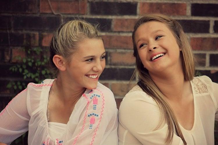 teenaged girls