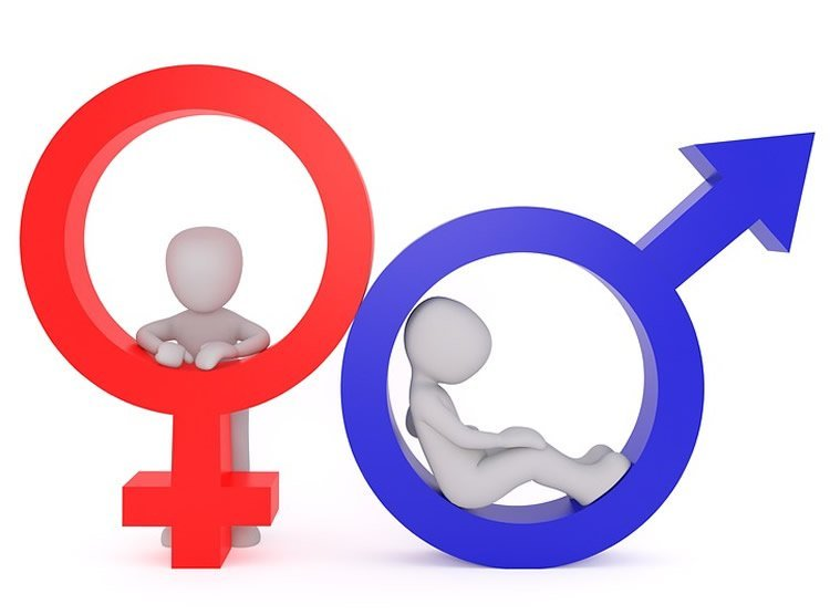 The male and female symbols are shown here