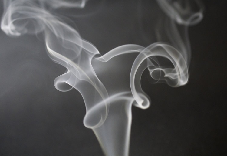 This shows smoke