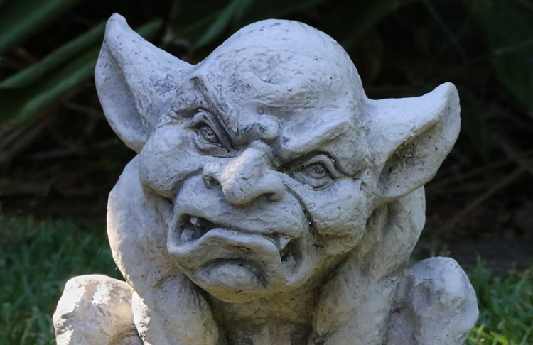 This is a gargoyle