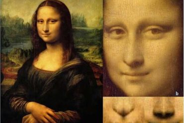 This shows the Mona Lisa