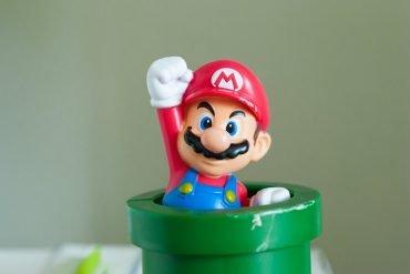 This shows Super Mario