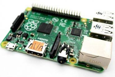 This shows a raspberry pi