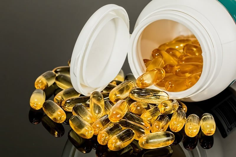 This shows omega 3 capsules
