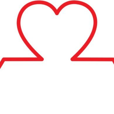 This shows a pulse line and heart