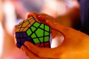 This shows a rubik cube