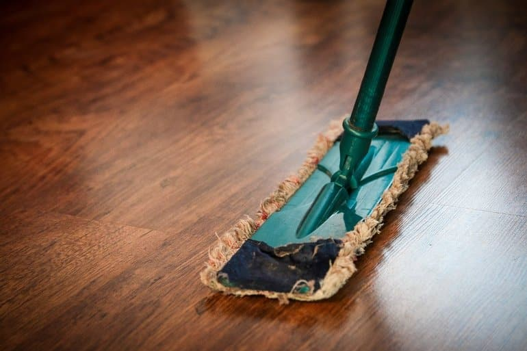 This shows a broom