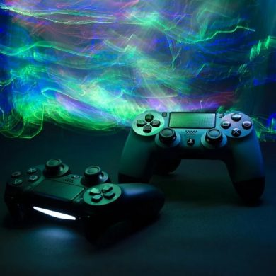 This shows video game controllers