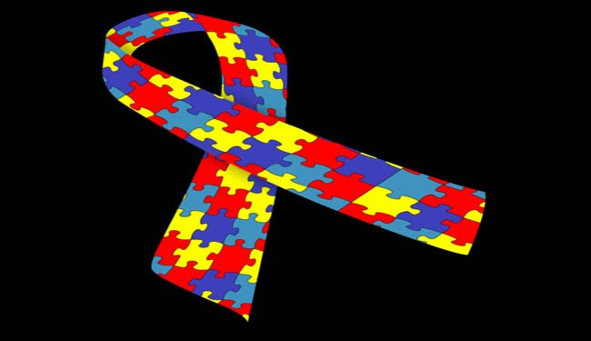 This is an image of the Autism awareness ribbon.