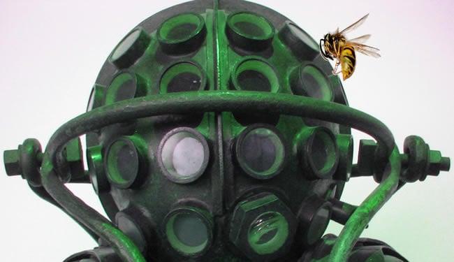 Robotic Bee Eyes Developed