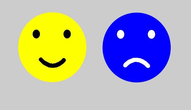 Optimistic Brain vs Pessimistic Brain